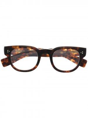 Очки в оправе черепаховой расцветки Eyevan7285. Цвет: коричневый