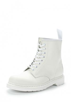 Ботинки Dr. Martens 1460 Mono. Цвет: белый