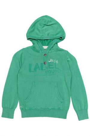 Пуловер JEAN BOURGET. Цвет: зеленый