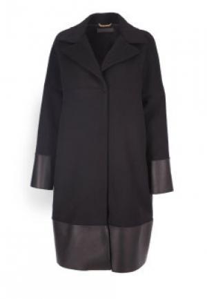 Пальто ALBERTA FERRETTI. Цвет: черный
