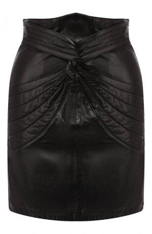 Кожаная юбка Isabel Marant. Цвет: черный