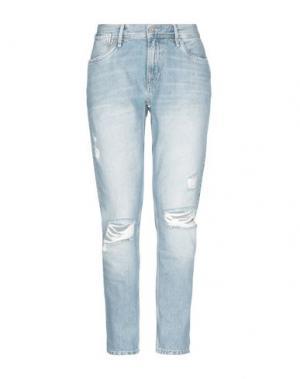 Джинсовые брюки PEPE JEANS. Цвет: синий