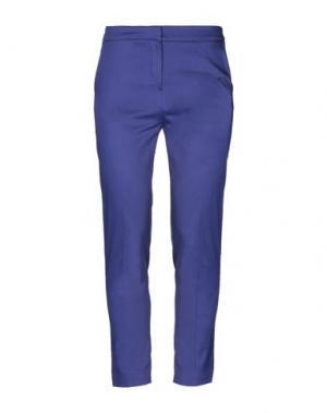 Повседневные брюки ANNA RACHELE. Цвет: ярко-синий