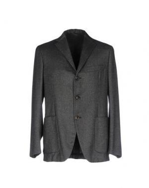 Пиджак MALO. Цвет: стальной серый