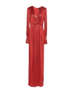 Длинное платье JENNY PACKHAM. Цвет: красный