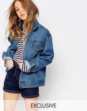 Джинсовая куртка Reclaimed Vintage. Цвет: синий