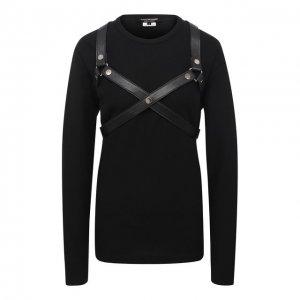 Пуловер Junya Watanabe. Цвет: чёрный