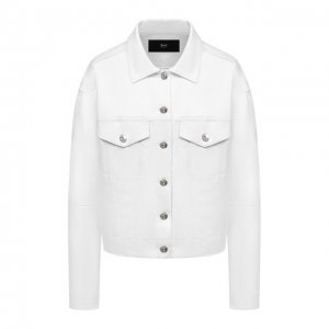 Джинсовая куртка 3x1. Цвет: белый