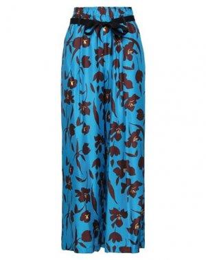 Повседневные брюки ALYSI. Цвет: лазурный