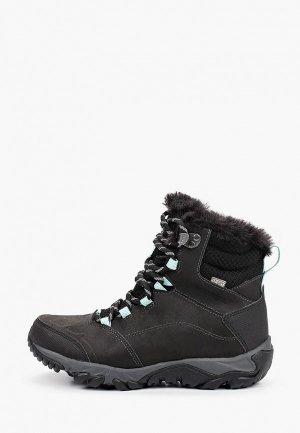 Ботинки трекинговые Merrell THERMO FRACTAL MID WP. Цвет: черный