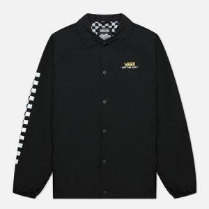 Мужская куртка ветровка x SpongeBob SquarePants Torrey Vans. Цвет: чёрный