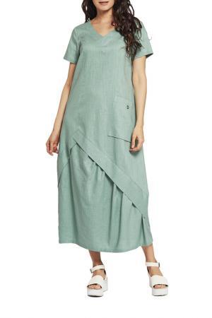 Платье D`imma. Цвет: бирюзовый светлый