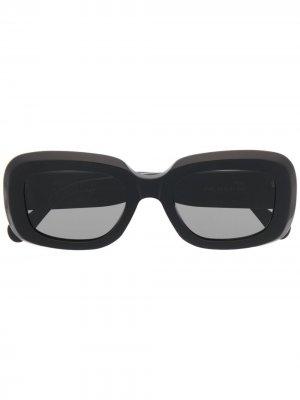 Солнцезащитные очки в прямоугольной оправе Retrosuperfuture. Цвет: черный