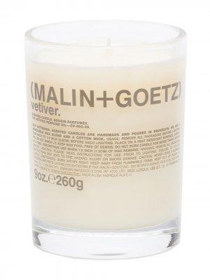 Свеча Vetiver (260 г) MALIN+GOETZ. Цвет: белый