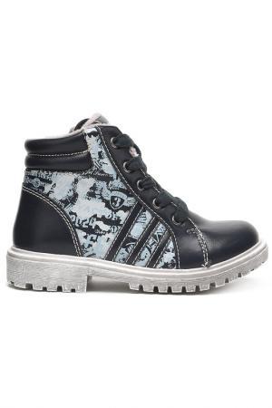 Ботинки INDIGO KIDS. Цвет: чёрный