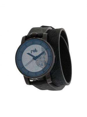 Наручные часы R360 Matte Black 36 мм Fob Paris. Цвет: черный
