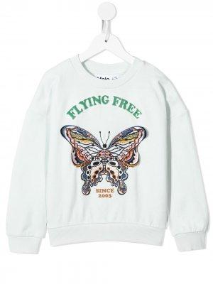 Толстовка Flying Free Molo. Цвет: синий