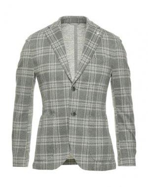 Пиджак BRANDO. Цвет: зеленый
