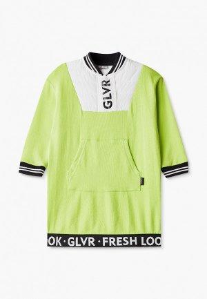 Платье Gulliver. Цвет: зеленый