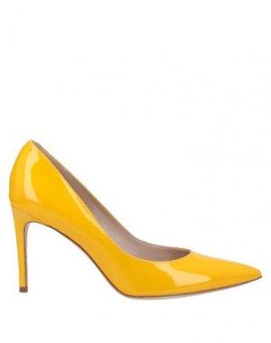 Туфли GUGLIELMO ROTTA. Цвет: желтый