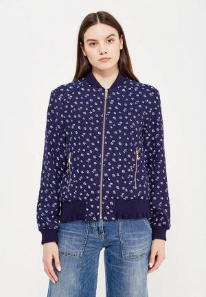 Куртка Michael Kors. Цвет: синий