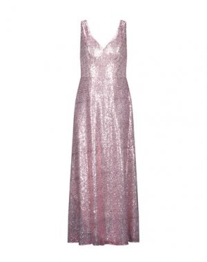 Длинное платье GLAMOUR. Цвет: розовый
