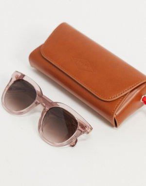 Солнцезащитные очки с квадратными стеклами 2097/S-Розовый цвет Fossil