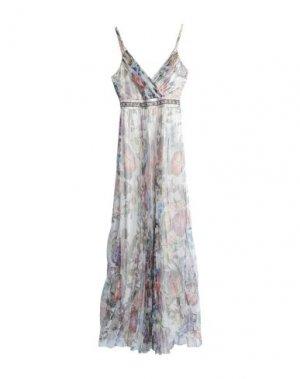 Длинное платье MIKAEL. Цвет: слоновая кость