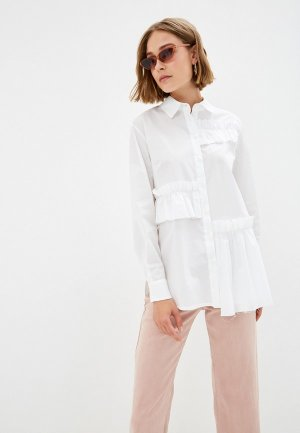 Блуза EMI. Цвет: белый