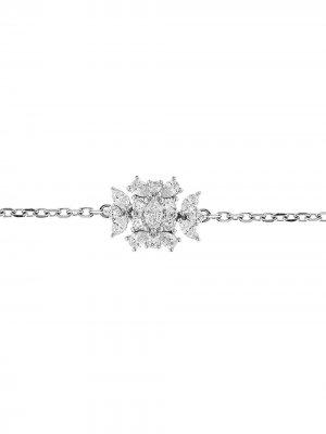 Золотое колье чокер с бриллиантами Yeprem. Цвет: серебристый