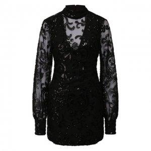 Мини-платье Alexis. Цвет: чёрный