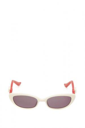 Очки солнцезащитные с линзами Moschino. Цвет: 02 серебристый
