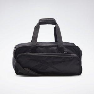 Спортивная сумка Active Enhanced Reebok. Цвет: black / vista grey