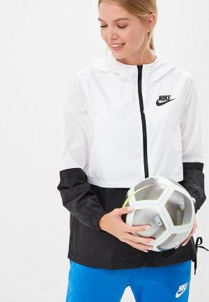 Ветровка Nike Sportswear Womens Woven Jacket. Цвет: разноцветный
