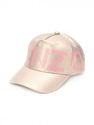Бейсбольная кепка Kenzo Kids. Цвет: золотистый