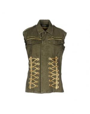 Куртка BEBÈ. Цвет: зеленый-милитари
