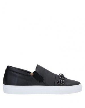 Кеды и кроссовки ALBERTO FERMANI. Цвет: черный