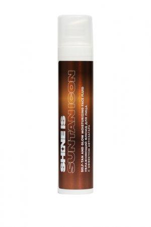 Увлажняющий флюид для лица Shine Is. Цвет: светло-оранжевый