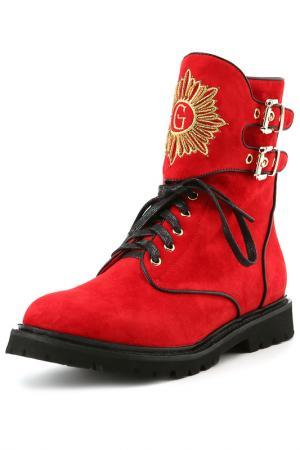 Ботинки Grand Style. Цвет: красный