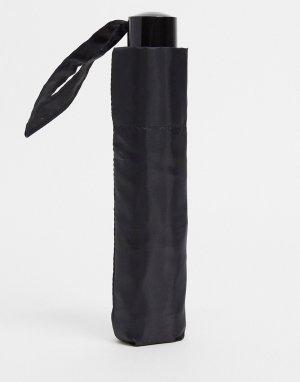 Черный зонт -Черный цвет Topshop