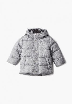 Куртка утепленная Gap. Цвет: серый