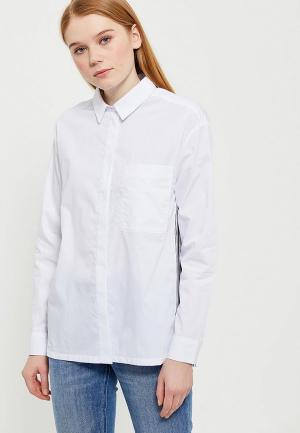 Блуза Lacoste. Цвет: белый
