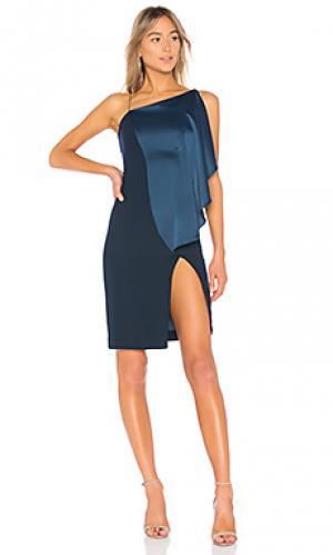Платье hestia AQ/AQ. Цвет: синий