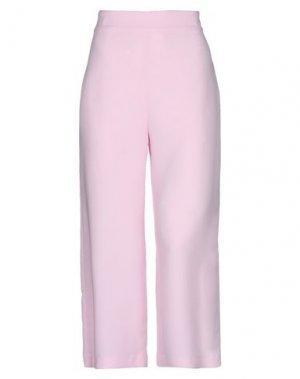 Повседневные брюки EMMA & GAIA. Цвет: розовый