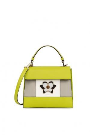 Зеленая сумка Mughetto FURLA. Цвет: multicolor