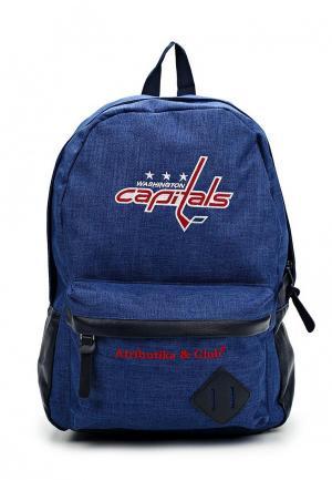 Рюкзак Atributika & Club™ NHL Washington Capitals. Цвет: синий