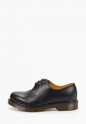Ботинки Dr. Martens 1461 PW SMOOTH. Цвет: черный