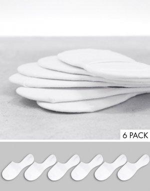 Белые супермягкие носки из бамбука -Белый Accessorize
