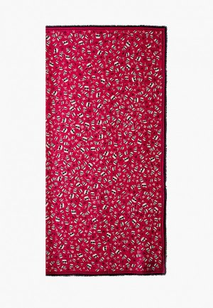 Платок Karl Lagerfeld ACCORDING TO CARINE. Цвет: розовый