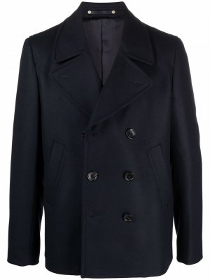Double-breasted tailored coat PS Paul Smith. Цвет: синий